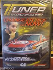 Tuner Transformation - Change My Ride...Now! (DVD, 2007), NEW, As Seen on SPEED