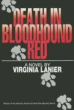 Death in Bloodhound Red, Lanier, Virginia, Acceptable Book