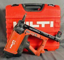 Hilti Gx2 Nail Gun Set With Case 3x 1226 Li Ion Batteries Amp Battery Charger