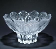 Kristallschale MEDEA Lausitzer Glas 21 cm (Goldmedaille LHM 1981)   #p689