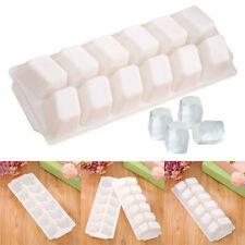 New 23.7*8.7*3cm Silicone Ice Tray Jelly Soap Pudding Cube Topper Mould Tools