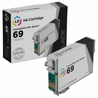 LD Reman Replacement T069120 for Epson T069 69 Black Ink Cartridge CX5000 CX8400