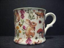 1 Rabbit Meadow Small English Fine Bone China Mug Cup By Milton China