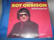 Roy Orbison All Time Greatest Hits LP 1986 Silver Eagle Vinyl Record[INV-38]