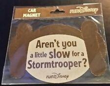 2017 WDW Run Disney Marathon Star Wars Princess Leai Stormtrooper Magnet