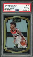 Kelly Oubre Jr Wizards 2015 Panini Select Silver Prizm Rookie Card #146 PSA 10