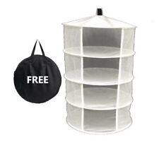Dry Net Rack 60cm - 4 Tier Hydroponics Flowering Drying Fruit Curing Herb Drying