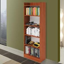 Libreria verticale componibile H.180 cm librerie modulari in legno ciliegio