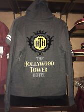 Disney Parks Tower of Terror Zip Up Hoodie Hollywood Tower Hotel L Xl New 2020