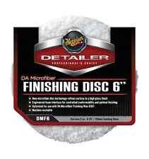 "Meguiar's DMF6 Detailer Dual Action Microfiber Finishing Disc 6"" Pair, Car Crazy"