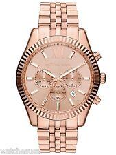 Michael Kors Oversize Rose Golde Lexington Chronograph Women's Watch MK8319
