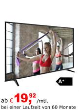 Samsung GU75TU7079 75 Zoll 4K LED Smart TV - Nachtschwarz