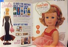 '60 MATTEL Fold-Out ADVERTISEMENT Playthings MAG Insert BARBIE Doll CHATTY CATHY