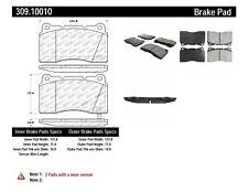 Disc Brake Pad Set-AWD Front,Rear Stoptech 309.10010