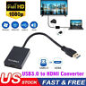 HD 1080P HDMI to USB 3.0 Video Cable Adapter Converter For PC Laptop HDTV LCD TV