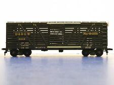 """HO Scale """"D&RGW Rio Grande"""" 3949 Livestock Freight Train Car / Mantua Brand"""