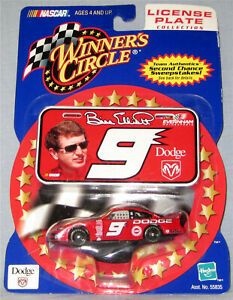 2001 Bill Elliott License Plate Collection 1:64 Scale NASCAR Diecast Car