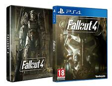 Fallout 4 Steel Book + Postcards (PS4) NEW Super FAST First Class Delivery FREE