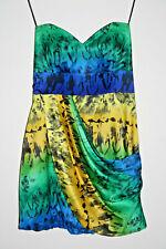 Next Runway Fashion Designer Bomber Corset Tea Party Coctail Dress Multi Size12