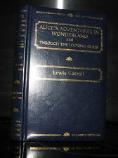 Alice In Wonderland & looking Glass. Lewis Carroll, 2003 ILLUSTRATED