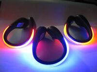 2 X LED CLIP ON SHOE LIGHTS FLASHING RUNNING WALKING NIGHT TIME BRIGHT JOG SAFET