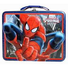 Ultimate Spider-Man Metal Tin LunchBox Lunch Box Carry All Case Marvel Hero NEW