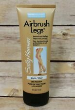 Sally Hansen Airbrush Legs Smooth On Water Resistant Light Leg Makeup 4 oz NEW