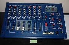 MESA DE MEZCLAS SOUNDCRAFT D-MIX 500 , CLASIC  HI END  MIXER DJ ( SUPER B )