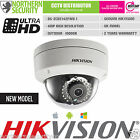 HIKVISION 4mm 4MP 2MP 1080P 30M IR P2P ONVIF WDR SD-CARD DOME IP SECURITY CAMERA