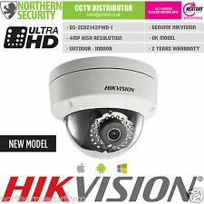 HIKVISION 2.8mm 4MP 1080P IR POE Dome Onvif Outdoor Network IP Security Camera
