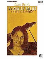 Carol Matz's Favorite Solos, Bk 1: 8 of Her Original Piano Solos by Matz, Carol