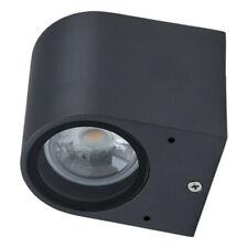 Aluminium Wandleuchte ABAJO 1-flammig GU10 230V Außenlampe IP44
