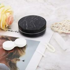 Portable Marble Surface Soaking Contact Lens Case For Travel Container Holder