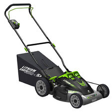 "Earthwise (20"") 40-Volt Cordless Lithium Ion 3-in-1 Electric Mower"