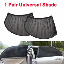 2x Car Rear Side Window Mesh Sun Visor Shade Cover Shield UV Protector CC