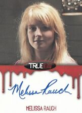 TRUE BLOOD PREMIERE EDITION - MELISSA RAUCH (SUMMER) AUTOGRAPH CARD