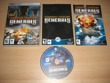 COMMAND AND & CONQUER C&C GENERALS DELUXE Inc. ZERO HOUR Add-On Apple MAC