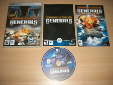 COMANDO E & conquistare C&C GENERALS Deluxe Inc. ZERO hour add-on Apple Mac