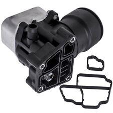 Oil Filter Housing + Cooler Cap & Gasket for Audi Seat Skoda VW 2.0TDI 1.6TDI
