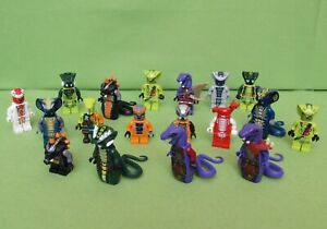 Lego Ninjago Schlange Figuren zum Auswählen 9444 9457 9445 9450 9446 70748 9562