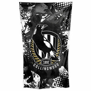 Collingwood Magpies AFL Cape and Wall Flag **AFL OFFICIAL MERCHANDISE**
