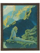 "New listing 1923 Maxfield Parrish ""Wild Geese ""Art Print Original Frame Beautiful!"