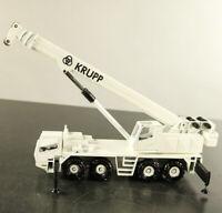 Conrad Modell 2080 LKW 1:50 KRUPP Teleskop Mobilkran Metall weiß Neuwertig OVP
