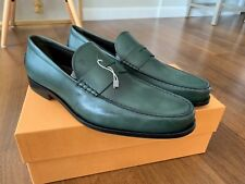 e281c3a50c1 NEW TOD S Green Mocassino Boston SIZE UK 12 US 13 AUTHENTIC TODS MENS shoes