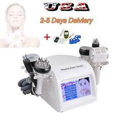 8 in1 Cavitation Vacuum Multipolar Tripolar RF Hammmer + Digital therapy machine