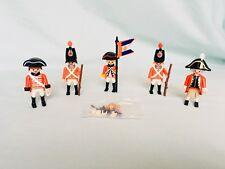 PLAYMOBIL Cappotto rosso inglese coloniale Soldati Esercito Figure BUNDLE LOTTO in buonissima condizione