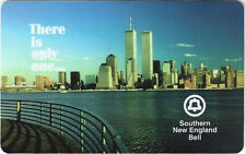 TK 16 Telefonkarte South Bell 10m TeleCard World '95 NYC Skyline & Twin Towers