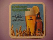 Beer Coaster ~*~ Eichbaum Brauereien Weizen Bier <> Mannheim, Germany Since 1679