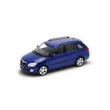 Welly 22519 Skoda Fabia II Combi blau Maßstab 1:24 Modellauto NEU! °