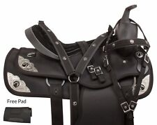 LIGHTWEIGHT 16 17 18 SYNTHETIC WESTERN PLEASURE TRAIL HORSE SADDLE TACK PAD